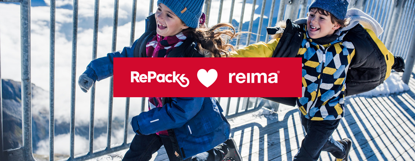 Reima loves RePack reusable packaging